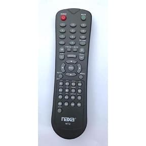 NAXA Original Replacement Remote Control for Naxa NT and NTD Model 12 Volt TVs and TV/DVD Combo Players