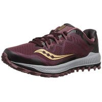 Saucony Womens Peregrine 8 Low Top Lace Up Fashion Sneakers