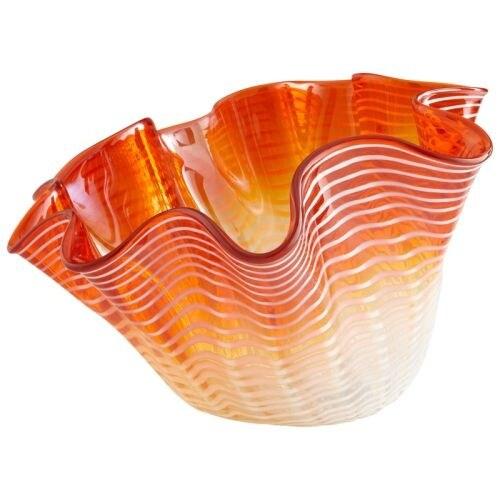 Cyan Design Large Teacup Party Bowl Teacup Party 17 Inch Wide Glass Decorative Bowl