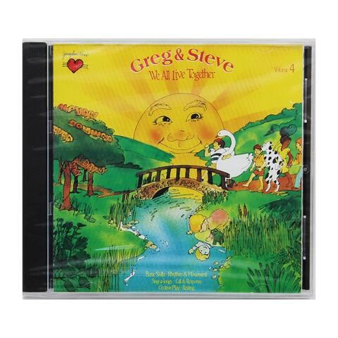 We All Live Together Volume 4 Cd Greg & Steve