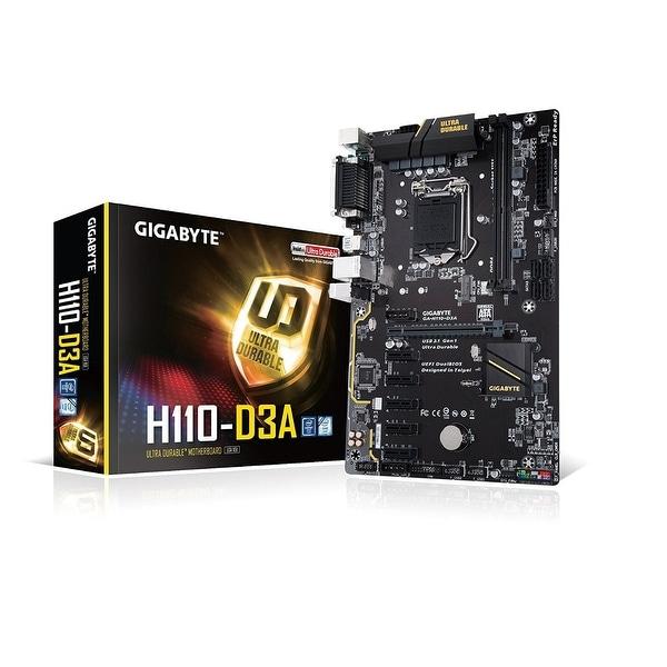 GIGABYTE GA-H110-D3A (rev. 1.0) LGA 1151 Intel SATA 6Gb/s ATX Intel Motherboard