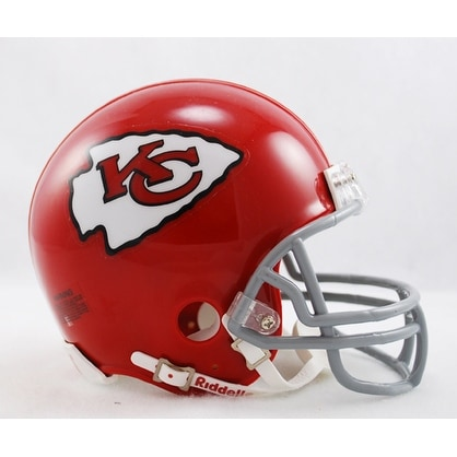 ab8a8a17 Kansas City Chiefs 1963-1973 Throwback Riddell Mini Football Helmet