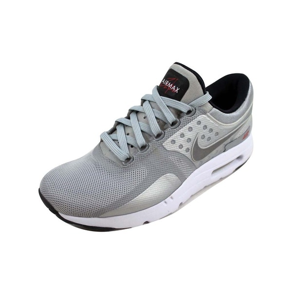 cb02bb0236 Shop Nike Men's Air Max Zero QS Metallic Silver789695-002 - Free ...