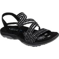5704e2ac0bb1 Shop Skechers Women s Reggae Slim Stretch Appeal Slingback Sandal ...