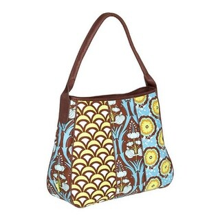 Amy Butler Women's Small Slouchy Bag Passion Lily Turquoise - us women's one size (size none)