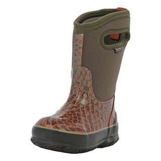 Bogs Boots Kids Kid Classic Scale Pull On Waterproof Rubber