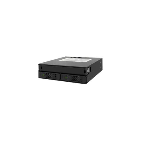 Icy Dock MB994IPO-3SB Icy Dock MB994IPO-3SB Drive Bay Adapter Internal - Matte Black - 3 x Total Bay - 1 x 5.25 Bay - 2 x