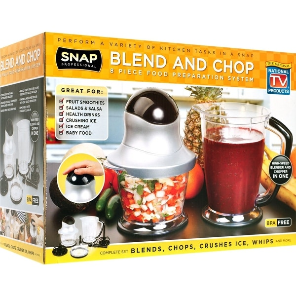 Blend and Chop 8-Piece Food Preparation System