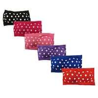 Women's 6 Pack Polka Dots Padded Tube Top Bandeau Bras