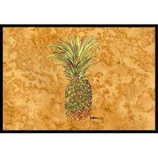Carolines Treasures 8654MAT 18 x 27 in. Pineapple Indoor Or Outdoor Mat