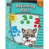 Ready Set Learn Beginning Math Gr Pk-K