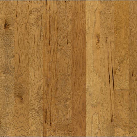 """Shaw SW226 Brushed Suede 5"""" Wide Wire Brushed Engineered Hardwood"""
