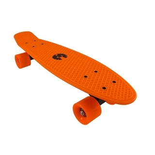 Rekon Neon Orange Banana Cruiser Skateboard 22 1/2 In. X 6 In.