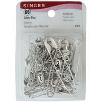 Safety Pins-Sizes 1 To 3 65/Pkg