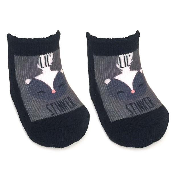 Lil Stinker Baby Socks 0-6 Month - Multi