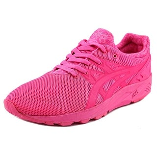 Asics Gel-Kayano Trainer EVO Men Round Toe Synthetic Pink Sneakers