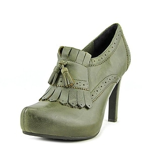 Luca Stefani April Pointed Toe Leather Ankle Boot