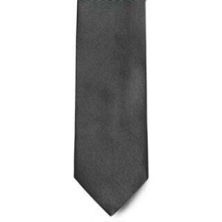 Men's 100% Microfiber Charcoal Tie
