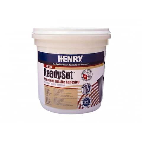 HENRY 12256 #314 ReadySet Premixed Mastic Adhesive, Gallon
