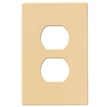 Cooper Wiring PJS8V Duplex Receptacle Screwless Wallplate