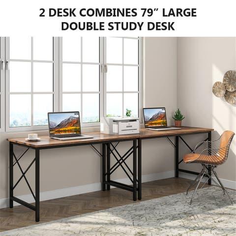 Computer Desk Office Writing Study Desk, Modern Simple Style Desk