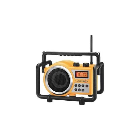 Sangean LB100YELLOWY LB-100 Compact AM/FM Ultra Rugged Radio Receiver