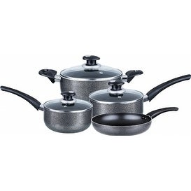 Brentwood BPS-107 Aluminum Non-Stick Cookware 7 pc. Set