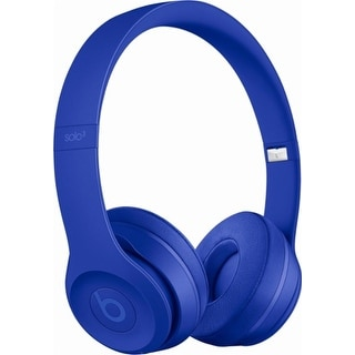 Beats by Dr. Dre - Beats Solo 3 Wireless Headphones break blue