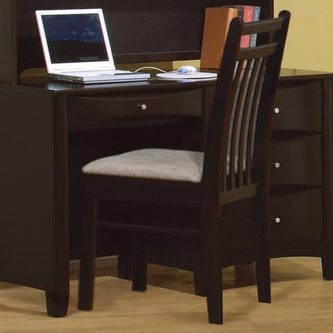 Melodie Transitional Light Brown Desk Chair