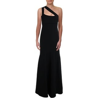 Link to Laundry by Shelli Segal Women's Crepe Cutout One Shoulder Mermaid Gown Similar Items in Dresses