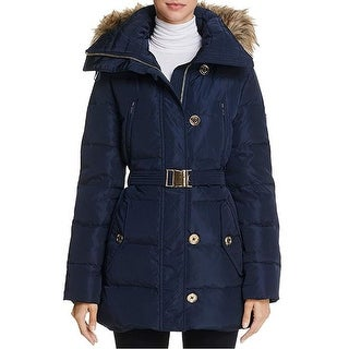 Michael Kors Navy Down Coat Navy