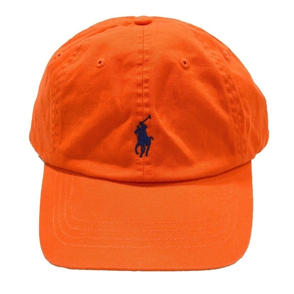 d1dddd4bff6 Shop Polo Ralph Lauren NEW Neon Orange Men s One-Size Chino Baseball Cap -  Free Shipping On Orders Over  45 - Overstock - 17865585