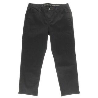 Calvin Klein Mens Classic Straight Jeans Denim Curvy Fit