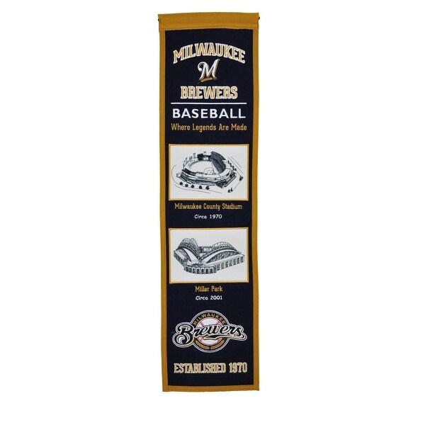 Milwaukee Brewers Stadium Transformation Banner
