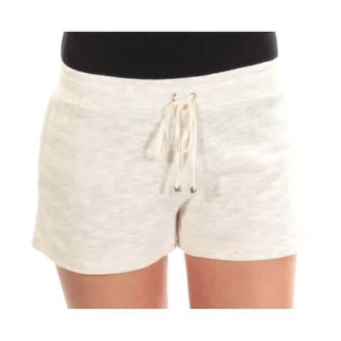 MAX STUDIO Womens Ivory Straight leg Short Size: XL