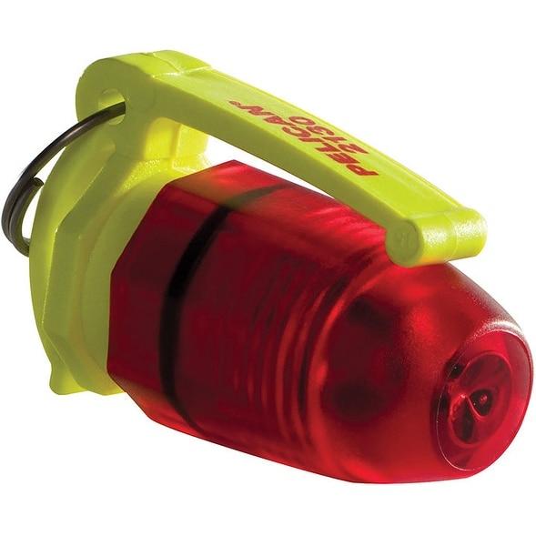 Pelican 2130-010-245 Mini Flasher 2130 Led Flashlight Yellow/Red