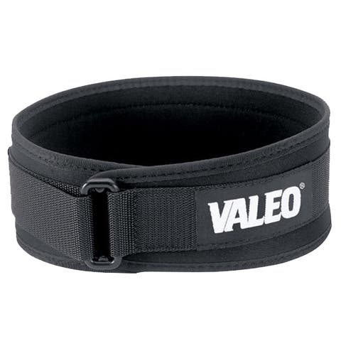 "Valeo 4"" Performance Low Profile Weight Lifting Belt"