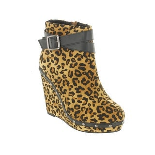 Red Circle Footwear 'Shannon' Wedge Bootie