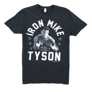 Fruit of the Loom NEW Black Mens Medium M Mike Tyson Graphic Tee T-Shirt