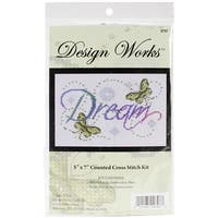 "Dream Counted Cross Stitch Kit-5""X7"" 14 Count"