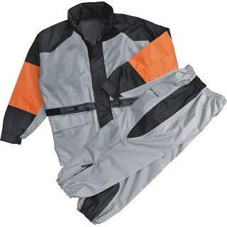 Mens Rain Suit Water Resistant - Reflective Piping (More options available)
