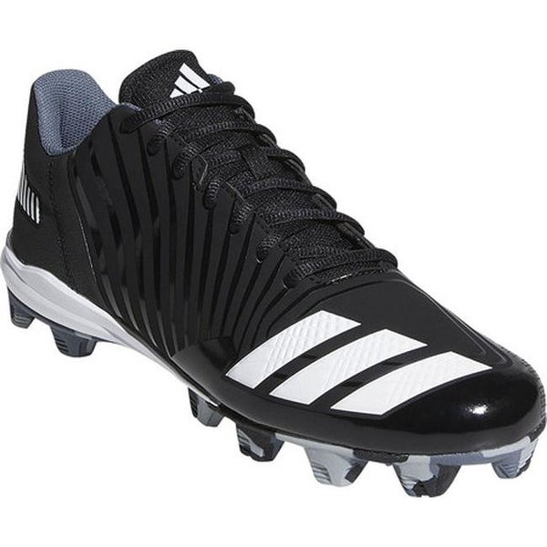 reputable site 51fc8 e9c49 adidas Men  x27 s Icon MD Baseball Cleat Core Black FTWR White