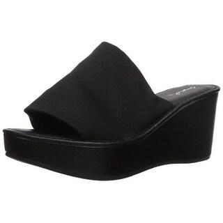 Qupid Women's Bali-55X Wedge Sandal