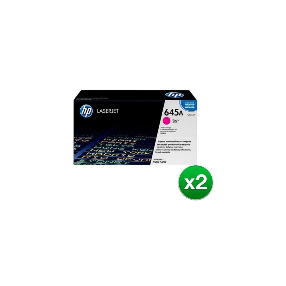 1PK C9733A Magenta Color Toner For HP LaserJet 5500 5500DTN 5500DN 5550N printer