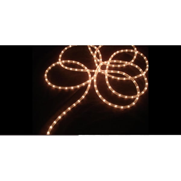18' Clear Indoor/Outdoor Christmas Rope Light Decoration
