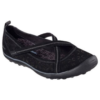 Skechers 49271 BLK Women's EARTH FEST - SUSTAINABILITY Walking