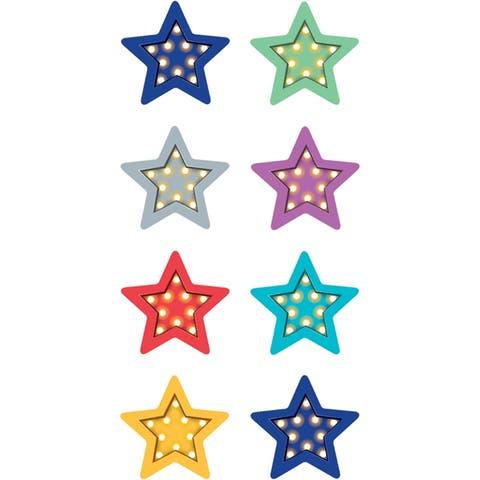 (6 Pk) Marquee Stars Mini Stickers - Multi