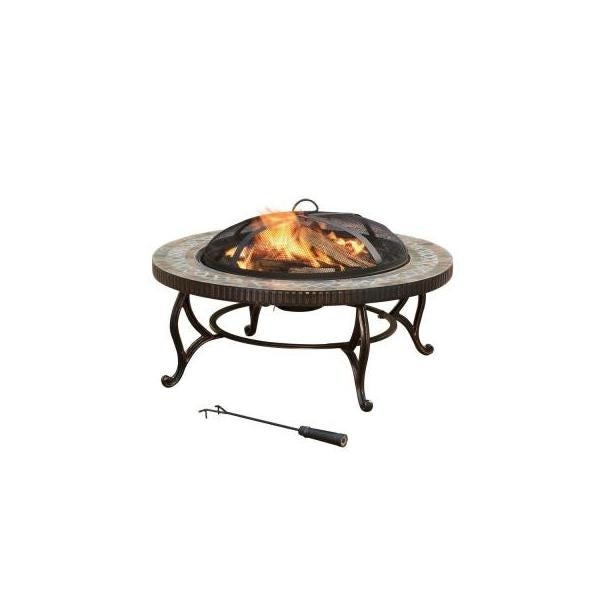 Shop Pleasant Hearth Ofw155h Chesterfield Fire House Black Free