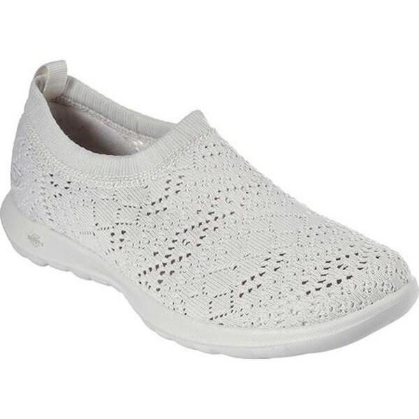 26fa40cd9a1a Shop Skechers Women's GOwalk Lite Harmony Slip-On Shoe Natural ...