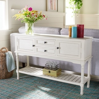 """Link to Safavieh Tate 2-Drawer 2 Door Console Table - 47.3"""" W x 13"""" L x 29.5"""" H Similar Items in Living Room Furniture"""